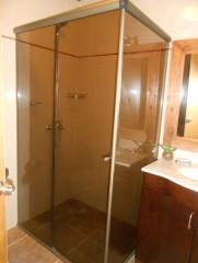 Imagen de Mampara para baño terminación Anolock en Mamparas