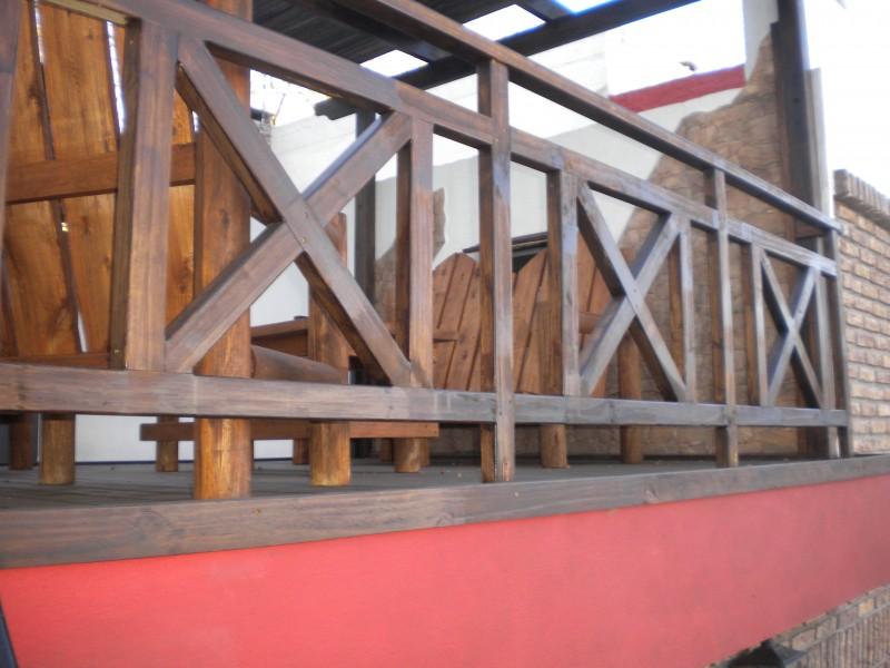 Arquitectura aluminio madera barandas - Baranda de madera ...