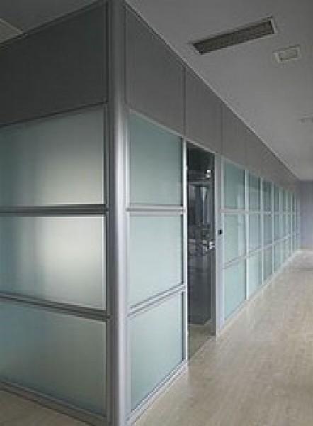Arquitectura aluminio tabiques divisorios tabiques for Tabiques divisorios para oficinas