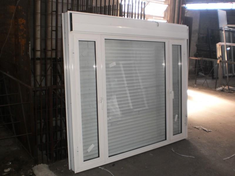 Arquitectura aluminio aberturas integrada o monoblock for Ventanas con persianas incorporadas