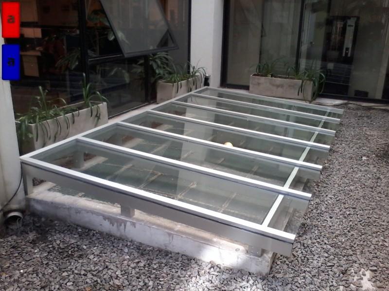 Arquitectura aluminio obras claraboya for Claraboyas para techos
