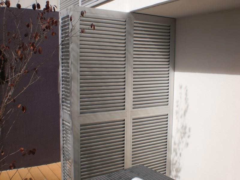 Arquitectura aluminio tabiques divisorios tabique de - Celosias de aluminio ...