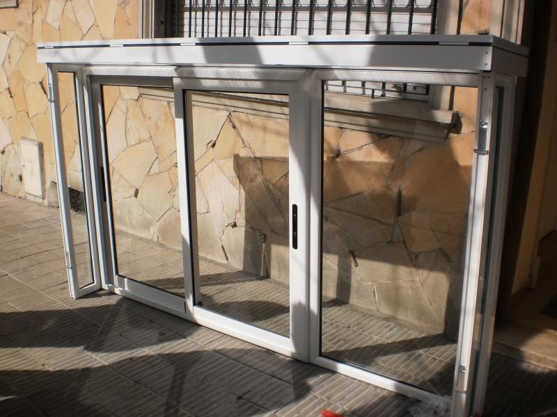 Arquitectura aluminio cerramientos cerramiento de for Cerramiento aluminio terraza