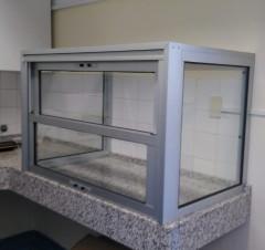 Imagen de Campana de Aluminio y Vidrio en Cerramientos