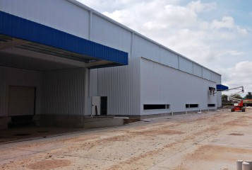 Imagen de Centro Logístico de Alimentos en Subcontrato completo para constructora