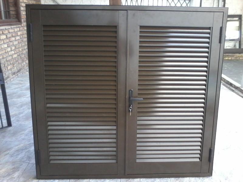 Arquitectura aluminio celos as doble batiente - Celosias para ventanas ...