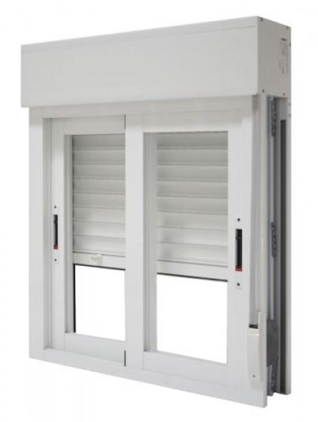 Arquitectura aluminio aberturas integrada o monoblock for Precio ventana pvc con persiana