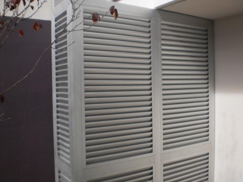 Arquitectura aluminio tabiques divisorios tabique de - Celosias para ventanas ...