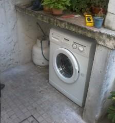 Imagen de Cerramiento bajo mesada lavadora - garrafa en Cerramientos