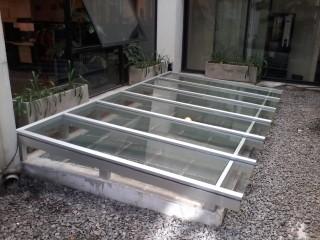 Arquitectura aluminio for Claraboyas para techos