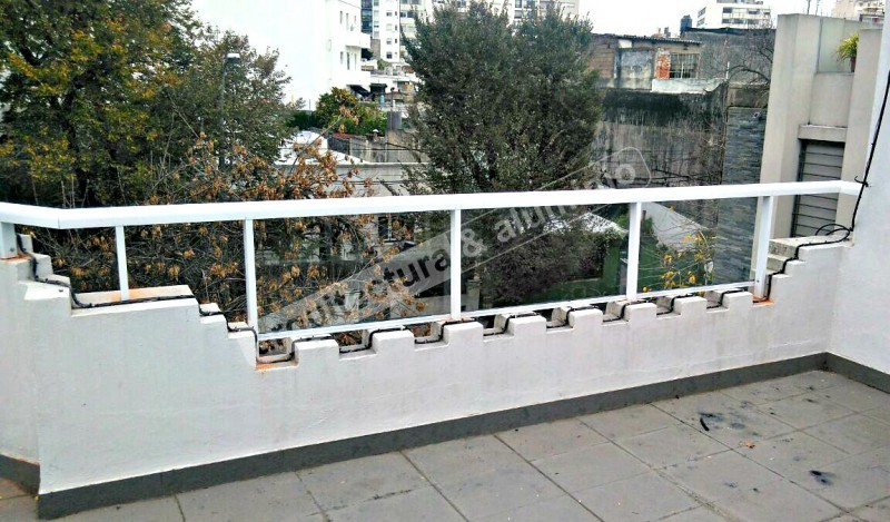 Arquitectura aluminio obras barandas en azotea - Azotea transitable ...