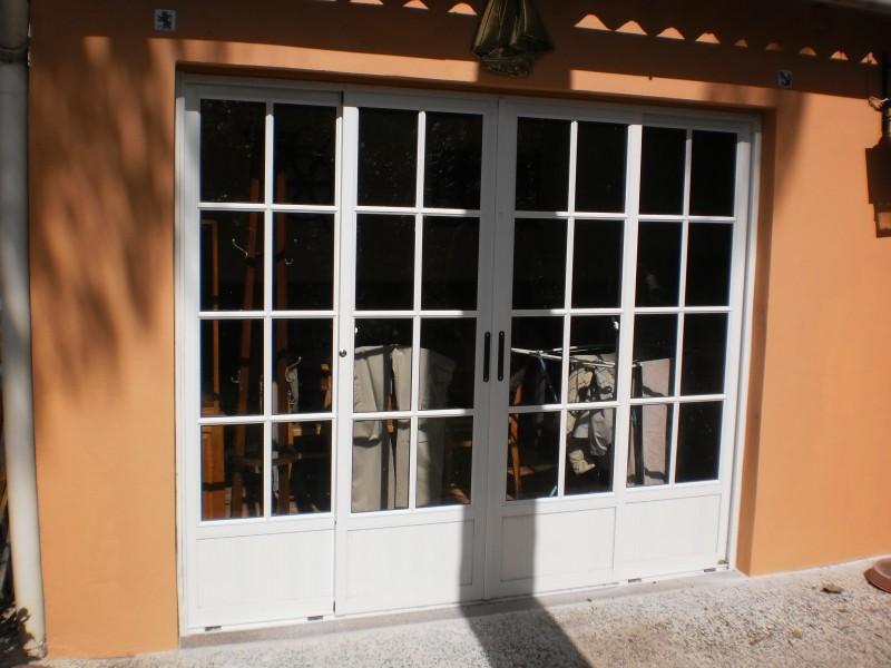 Arquitectura aluminio puertas corrediza 4 hojas tipo for Puerta corrediza de aluminio