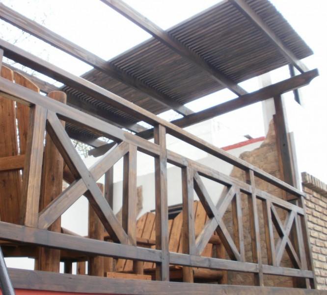 Arquitectura aluminio madera barandas - Barandas de aluminio ...