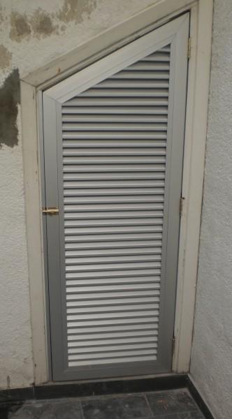 Arquitectura aluminio celos as batiente para nicho - Celosias de aluminio ...