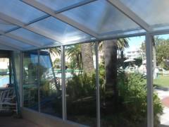 Imagen de Cerramiento acceso a piscina en Hotel Argentino - Piriápolis
