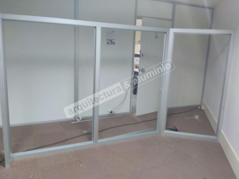 Arquitectura aluminio obras tabiques divisorios para for Tabiques divisorios para oficinas